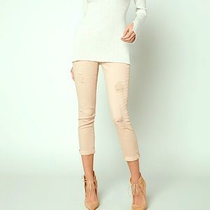 Bebe distressed Heartbreaker jeans size 27
